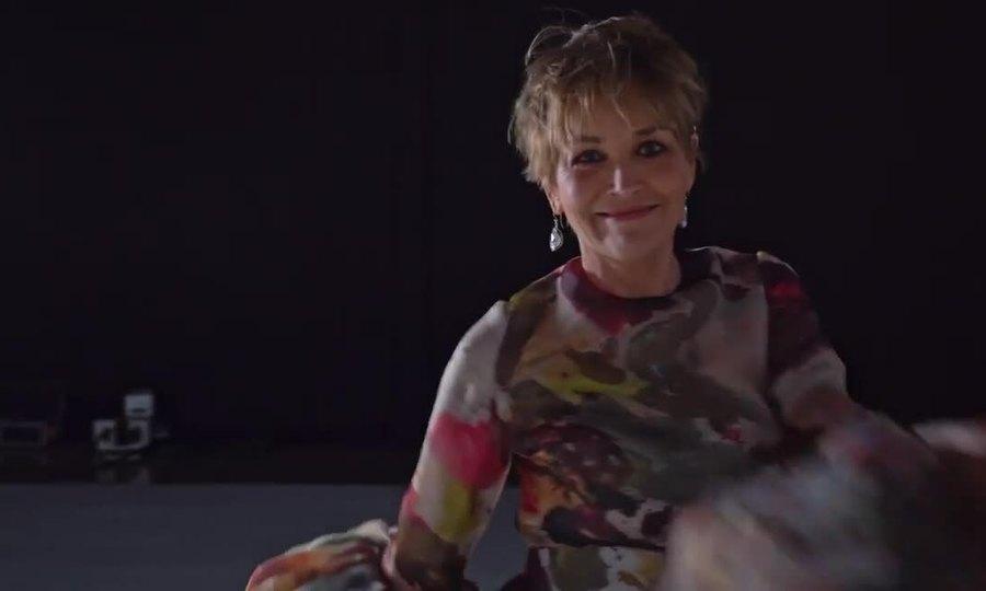 Sắc vóc tuổi 63 của Sharon Stone