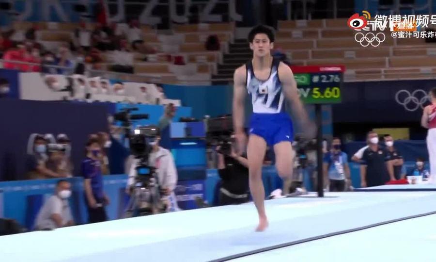 Hashimoto thực hiện lỗi trong bài nhảy chống