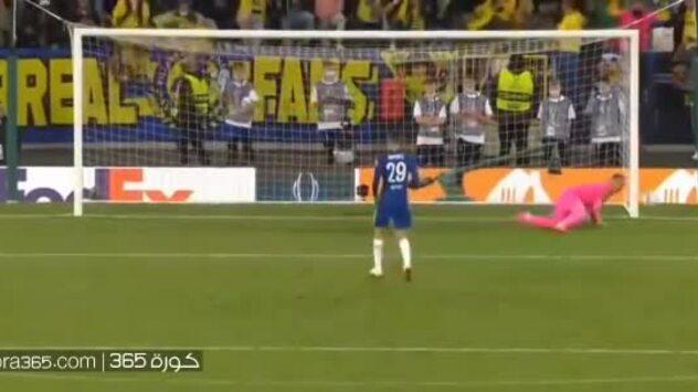 Loạt luân lưu trận Chelsea - Villarreal