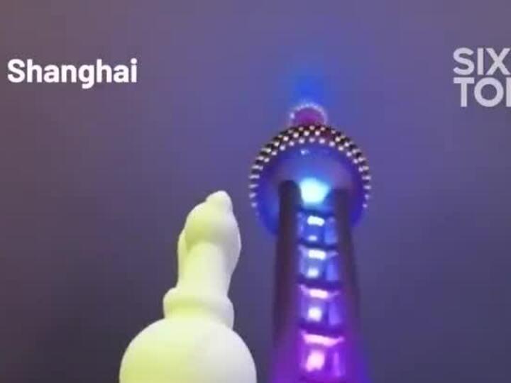 Kem in hình danh thắng hút khách ở Trung Quốc