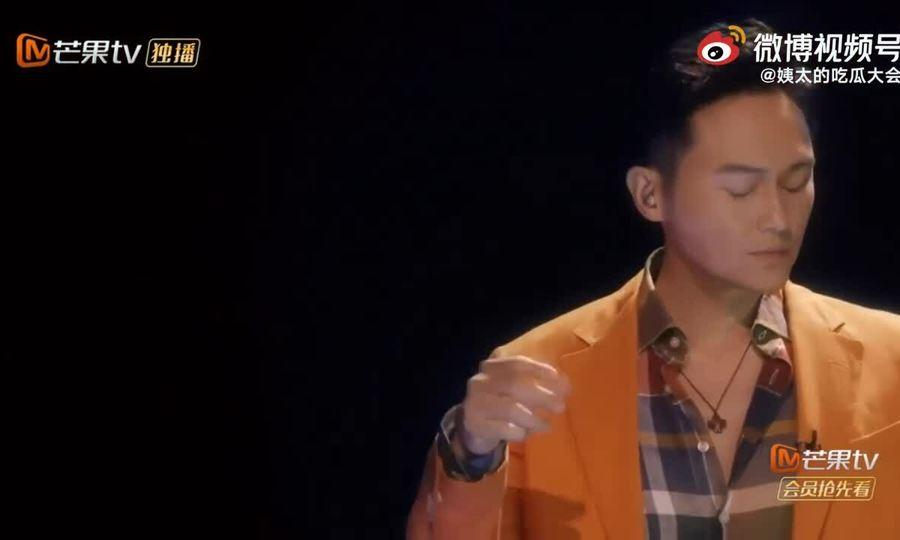 Trương Trí Lâm biểu diễn trong show 'Anh trai đạp gió rẽ sóng'