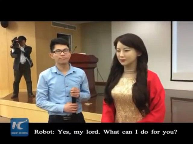 Robot lễ tân Jia Jia