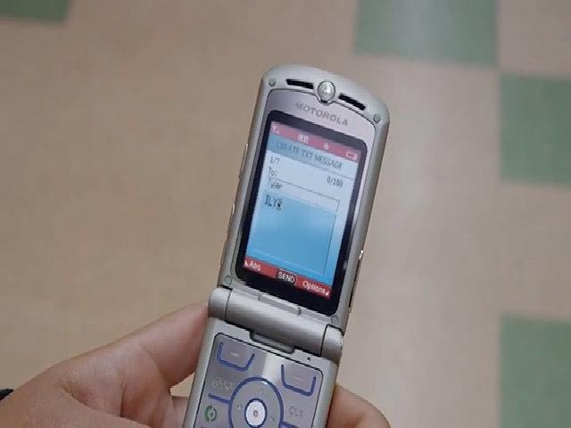 Quảng cáo mới về Motorola Razr V3 năm 2016