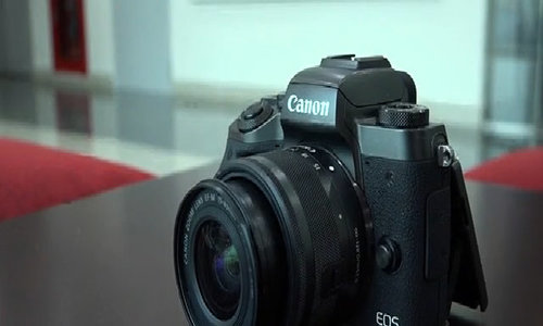Thiết kế Canon EOS M5