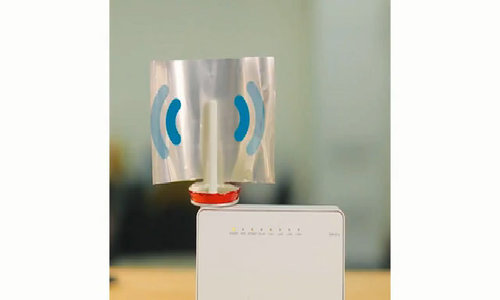Tăng độ phủ sóng Wi-Fi với vỏ lon nước ngọt