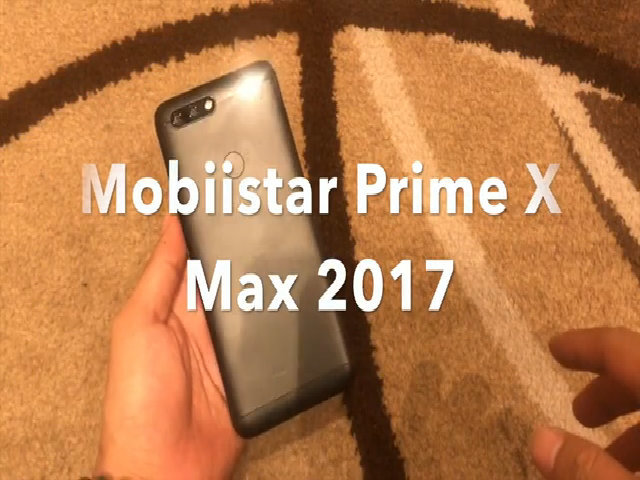 Mobiistar Prime X Max 2017