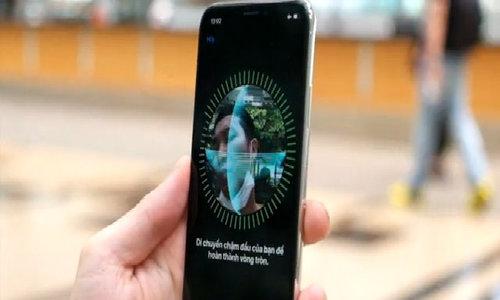 Thử mở khoá khuôn mặt trên iPhone X vừa về Việt Nam