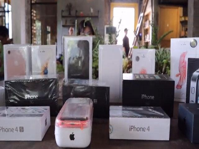 Bộ sưu tập iPhone của dân chơi Sài Gòn