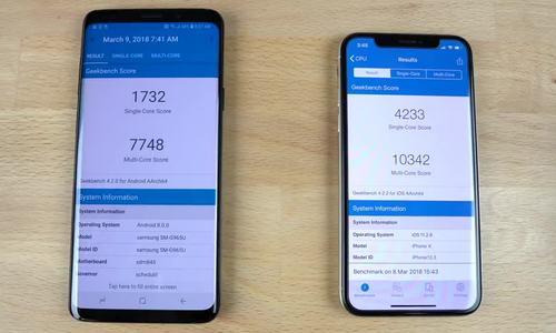 So tốc độ Galaxy S9+ và iPhone X (P4)