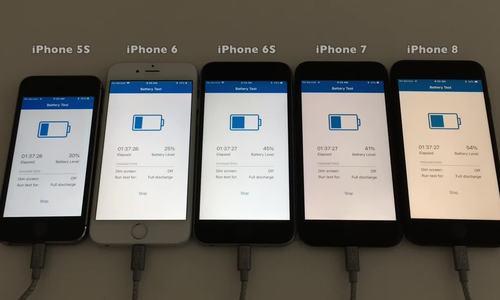 So sánh thời lượng pin iPhone chạy iOS 11.3 và 11.2