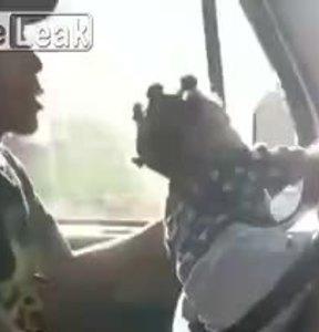 Khi vợ bắt trông con gái nhưng cuối tuần vẫn phải lái xe