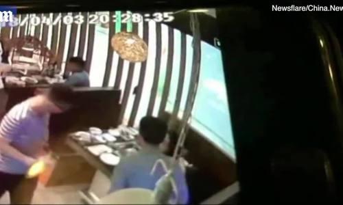 Nhà hàng náo loạn vì chuột