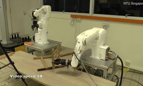 Robot lắp ghế
