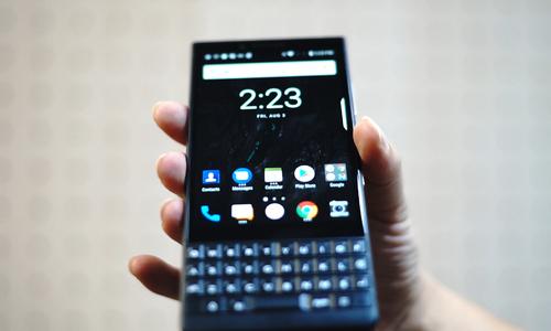 Trên tay BlackBerry key2