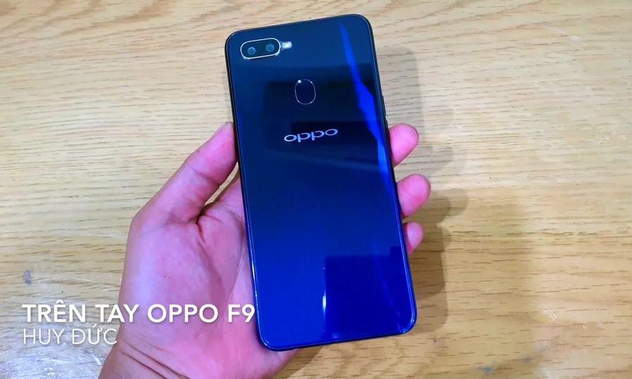 Trên tay Oppo F9