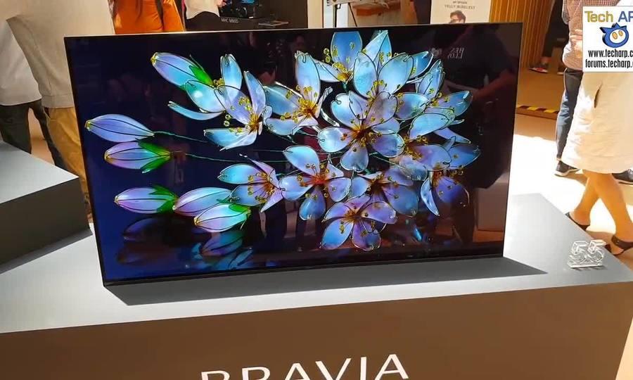 Sony A9F - TV OLED với âm thanh phát ra từ màn hình
