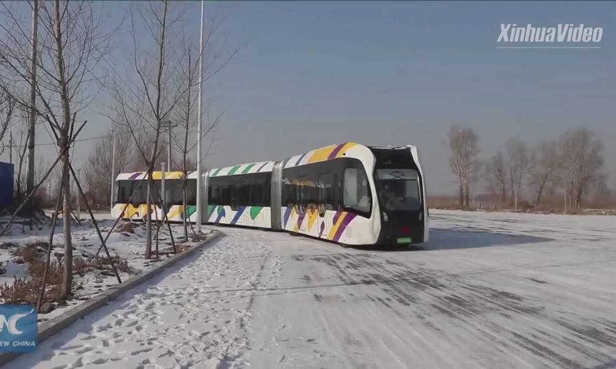Tàu điện thông minh ở Trung Quốc