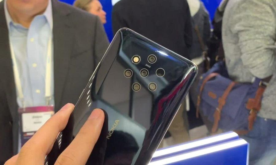 Nokia 9 PureView - smartphone đầu tiên có 5 camera sau