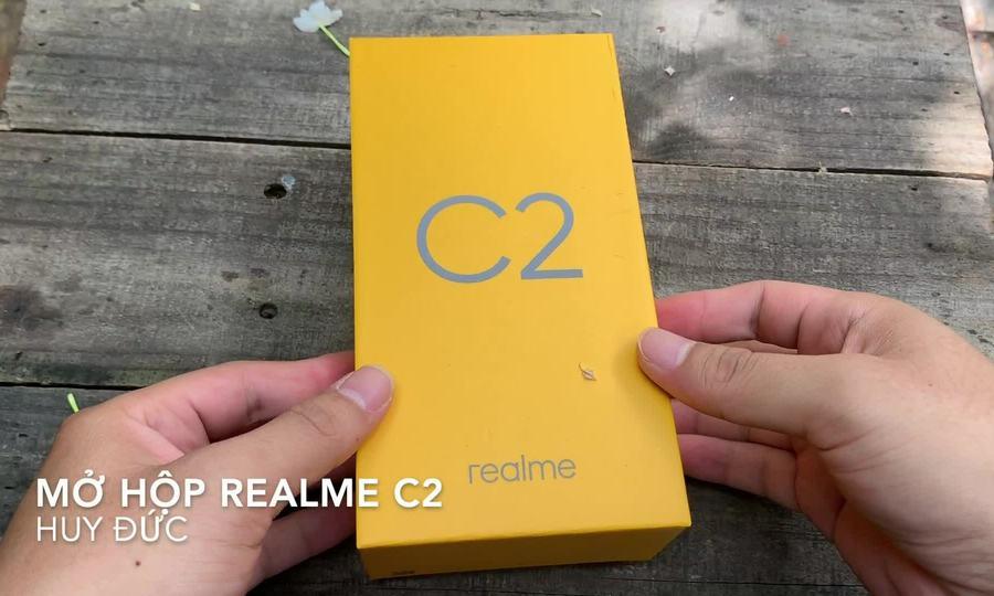 Mở hộp Realme C2