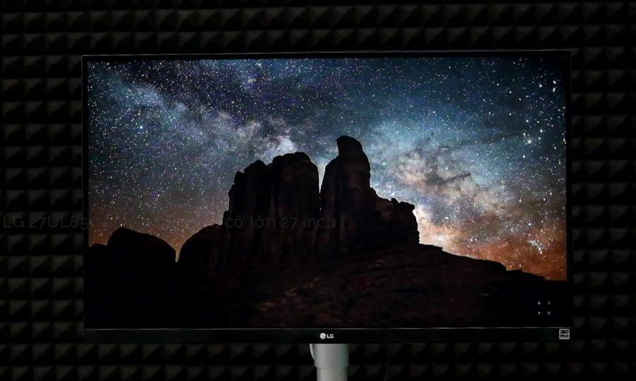 LG 27UL850 màn hình 4K HDR viền màn hình siêu mỏng