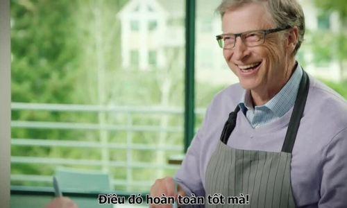Bill Gates tự làm món gà nướng BBQ - ảnh 1
