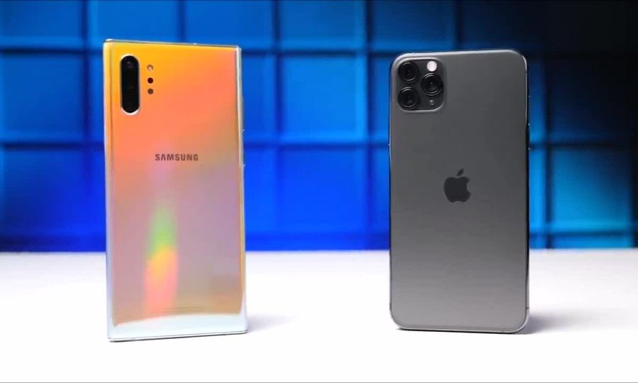 iPhone 11 vs Note10