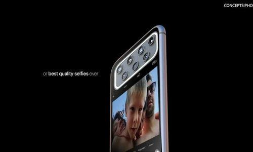 Hình dung iPhone 12 với cụm 7 camera ẩn - ảnh 1