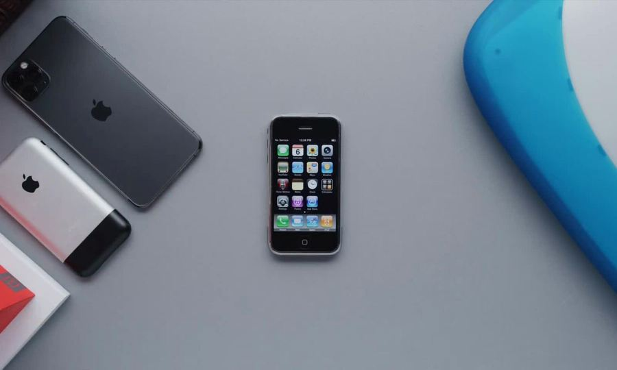 iPhone 2G vs iPhone 11