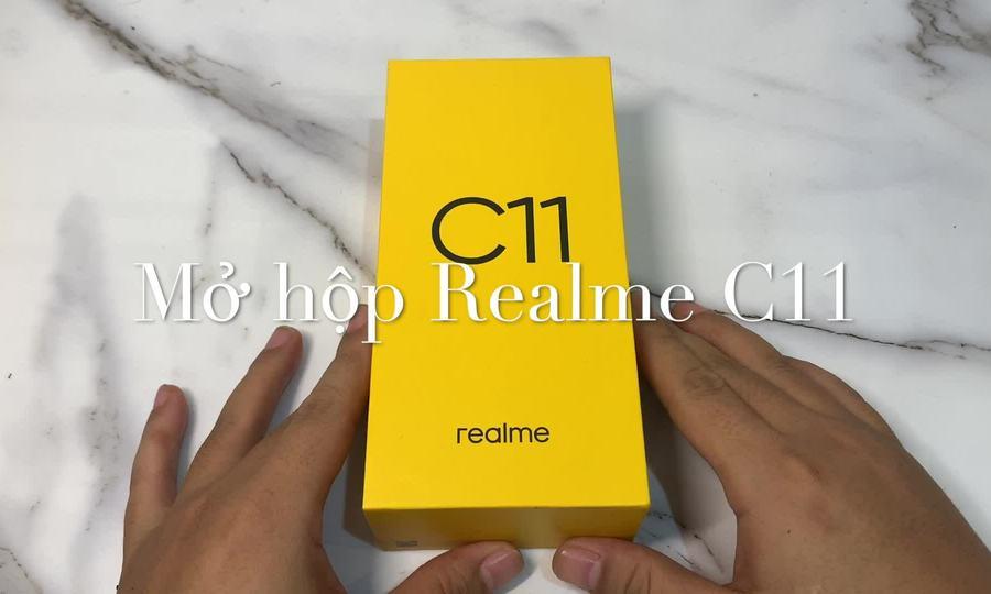 Mở hộp Realme C11