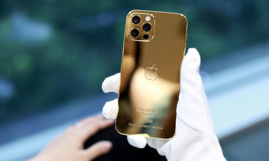 iPhone 12 Pro mạ vàng