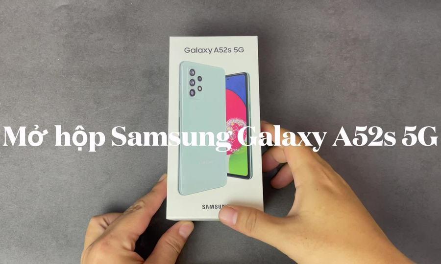 Mở hộp Samsung Galaxy A52s 5G