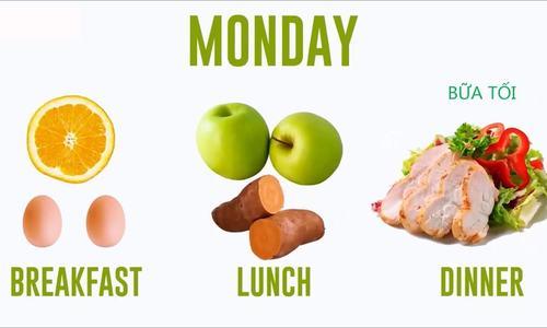 Thực đơn ăn kiêng giảm cân trong hai tuần với trứng gà - ảnh 1
