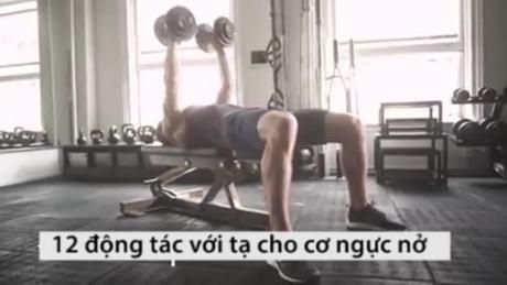 Những động tác săn cơ nam giới có thể tập tại phòng gym