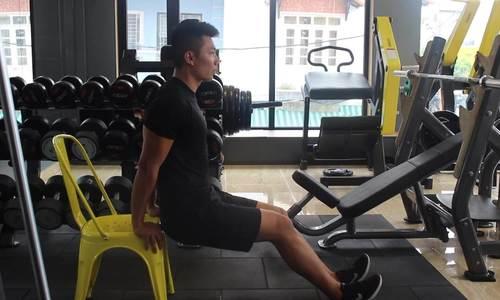 Bài tập nhẹ nhàng giúp tăng cơ bắp tay - ảnh 1