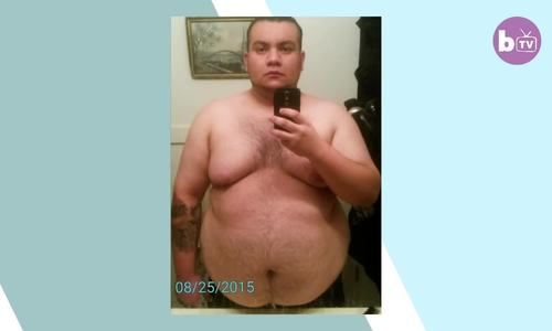 Chàng trai giảm từ 163kg còn 81kg