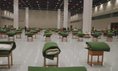 Biến trung tâm hội nghị thành bệnh viện 1000 giường trong 24 giờ