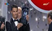 Ronaldo đoạt danh hiệu Cầu thủ hay nhất châu Âu 2013-2014