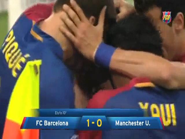 Barca 2-0 Man Utd (2009)