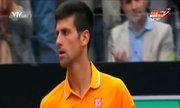 Novak Djokovic 2-0 David Ferrer