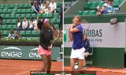 Serena Williams 2-1 Anna-Lena Friedsam