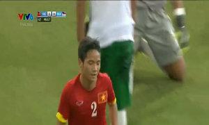 Hữu Dũng gia tăng cách biệt lên 4-0 cho U23 Việt Nam