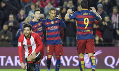 Barca 6-0 Athletic Bilbao