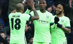 Aston Villa 0-4 Man City