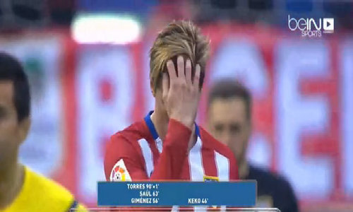 Atletico Madrid 3-1 Eibar