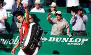 Novak Djokovic 1-2 Jiri Vesely