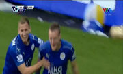Vardy mở tỷ số cho Leicester