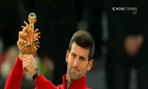 Novak Djokovic 2-0 Andy Murray