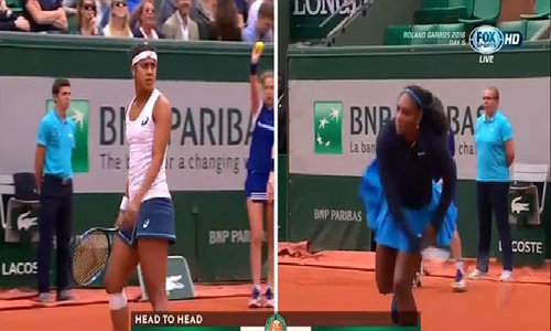 Serena Williams 2-0 Teliana Pereira