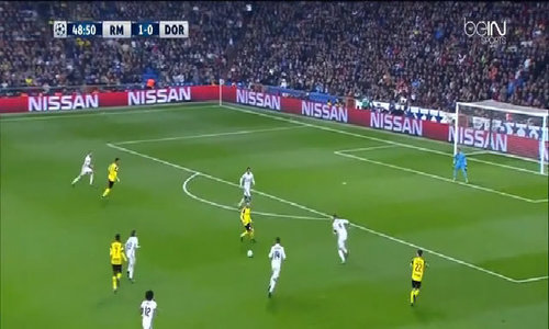 Real Madrid 2-2 Borussia Dortmund