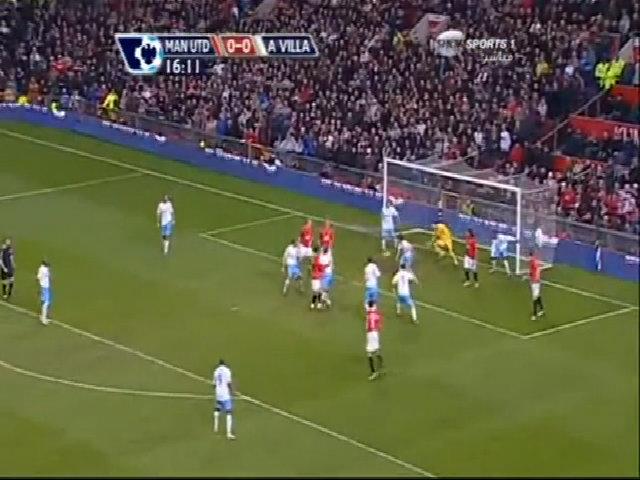 Bàn thắng bằng gót của Ronaldo vào lưới Aston Villa